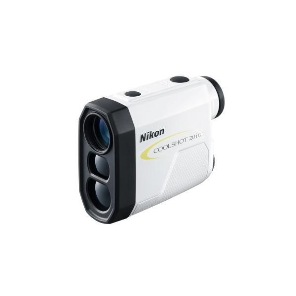 【送料無料】Nikon・ニコンゴルフ用レーザー距離計 COOLSHOT 20i GII 高低差対応 ニコン最小軽量ボディー
