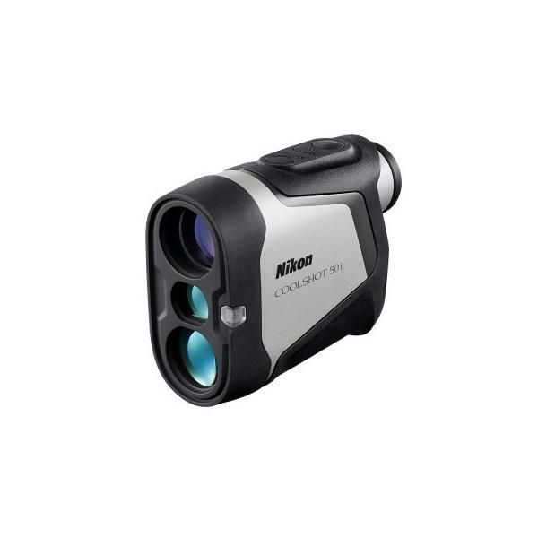 【送料無料】Nikon・ニコンゴルフ用レーザー距離計 COOLSHOT 50i 振動とサインで測定をお知らせ スポーティーなフォルムに多彩な機能搭載