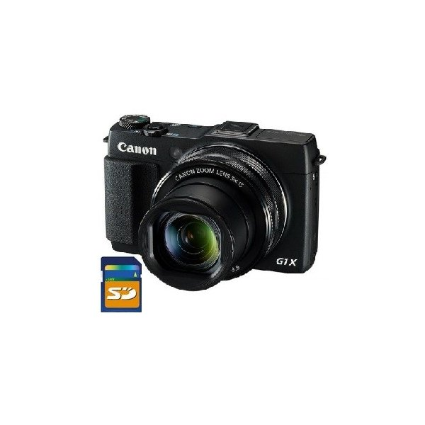 SDHCカード8GB差し上げます【送料無料】キヤノン Canon 1.5型大型CMOSセンサーデジカメ パワーショット PowerShot G1 X Mark II