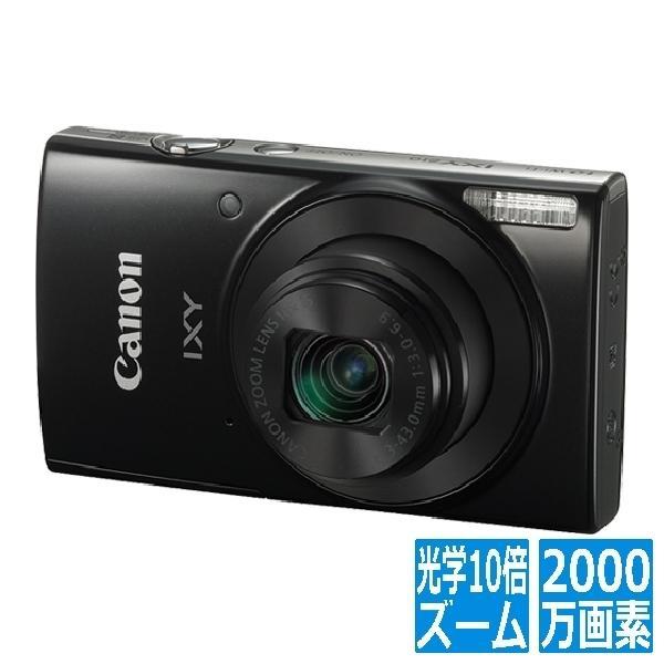 コンパクトデジタルカメラ 光学10倍ズーム IXY210(BK)