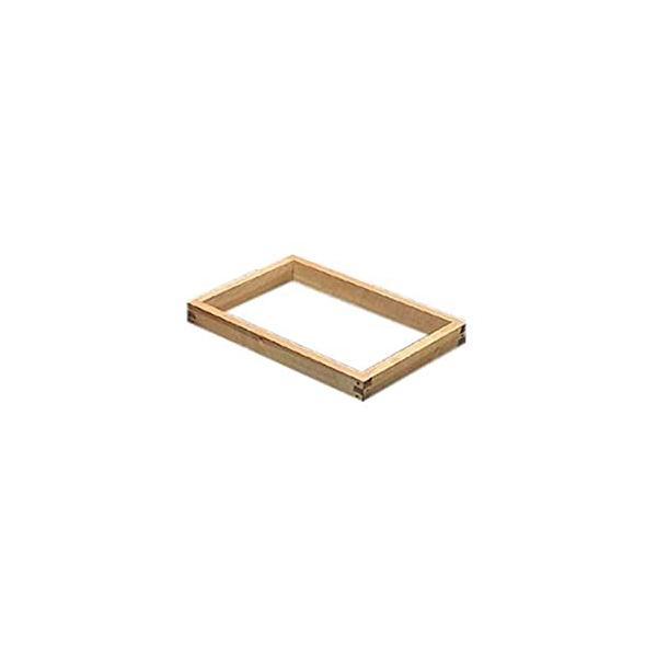 カステラ木枠(朴材) 8斤 1寸 業務用 WKS07810