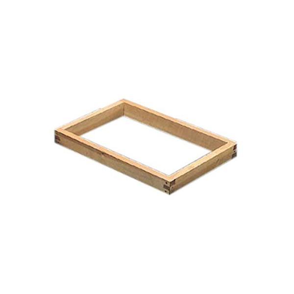 カステラ木枠(朴材) 8斤 2.2寸 業務用 WKS07822
