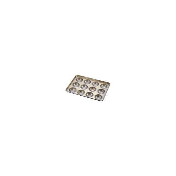 シリコン加工 カステラドーナツ型天板 (12ヶ取) 業務用 WTV33