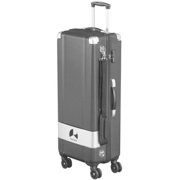 スリムスーツケース BCK-800-BK