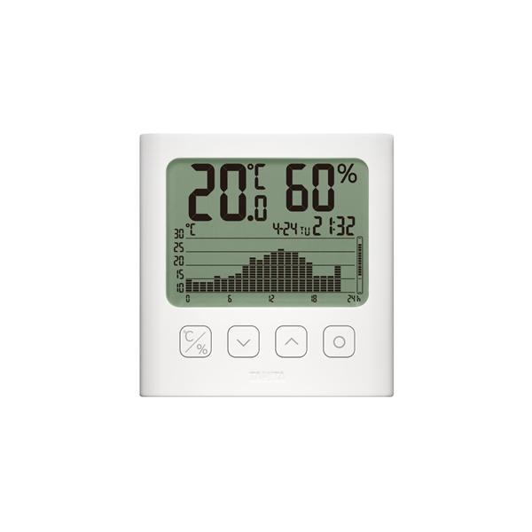 グラフ付デジタル温湿度計 TT581WH