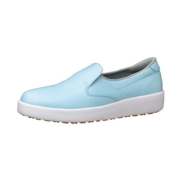 ミドリ安全ハイグリップ作業靴H-700N 26.5cm ブルー 008664061