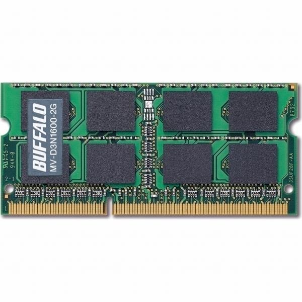 PC3-12800(DDR3-1600)対応 240Pin用 DDR3 SDRAM S.O.DIMM 2GB MV-D3N1600-2G