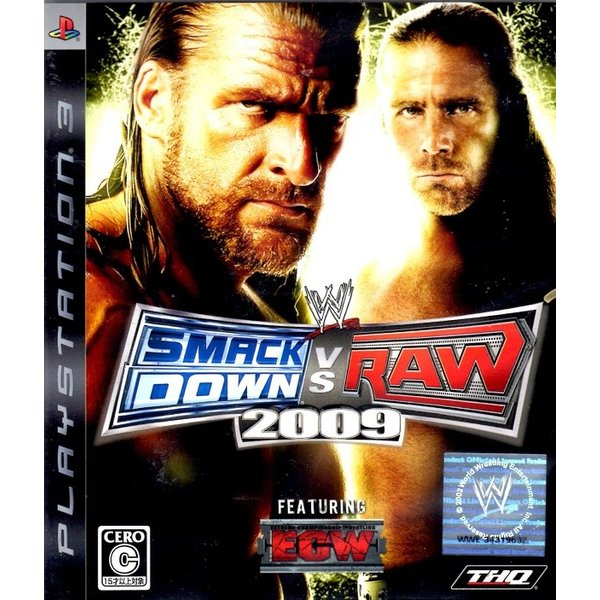 PS3 WWE2009 SmackDown VS Raw【中古】|hitodawara|01