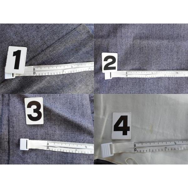 リサイクル 真綿紬 中古 正絹 単衣 つむぎ 裄65.5cm 裄Mサイズ jj0370b|hitotoki|05
