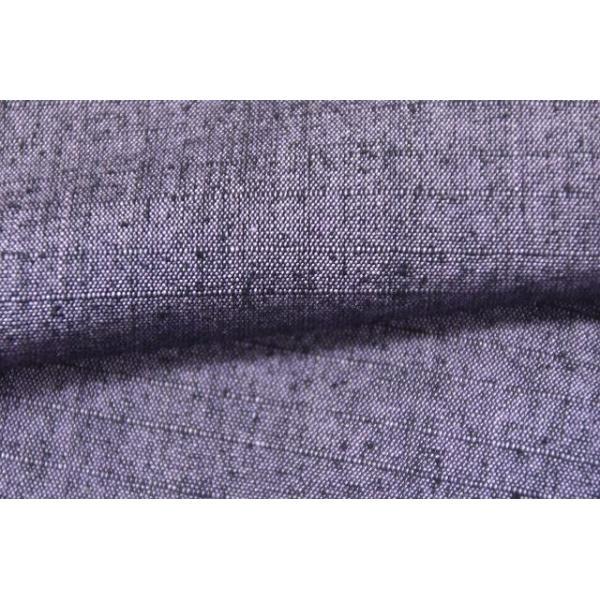 リサイクル 真綿紬 中古 正絹 単衣 つむぎ 裄65.5cm 裄Mサイズ jj0370b|hitotoki|06