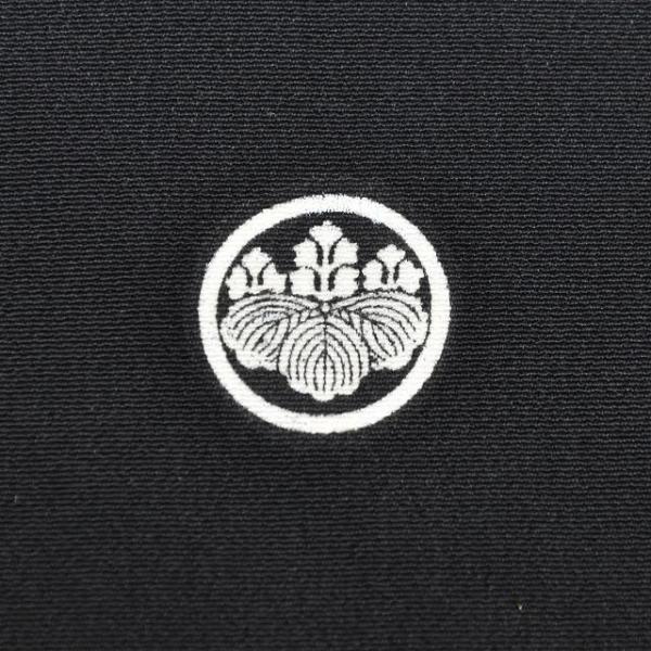 リサイクル着物 黒留袖 中古 正絹 五つ紋 袋帯 2点セット ちょっとふくよかL Lサイズ ll2418b|hitotoki|11