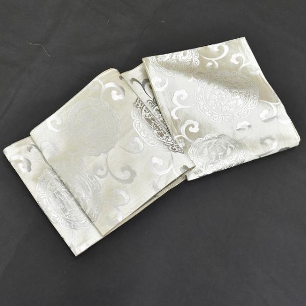 リサイクル着物 黒留袖 中古 正絹 五つ紋 袋帯 2点セット ちょっとふくよかL Lサイズ ll2418b|hitotoki|06