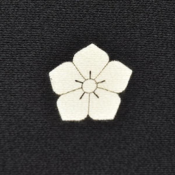 黒留袖 中古 着物 リサイクル 正絹 五つ紋 比翼付き 仕立て上がり ちょっとふくよかL mm0762b|hitotoki|10