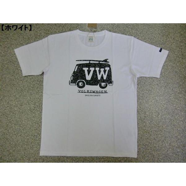 Tシャツ 半袖Tシャツ VOLKSWAGEN フォルクスワーゲン メンズ レトロ サーフ ロゴT 大人 夏 新作|hitstyle|04