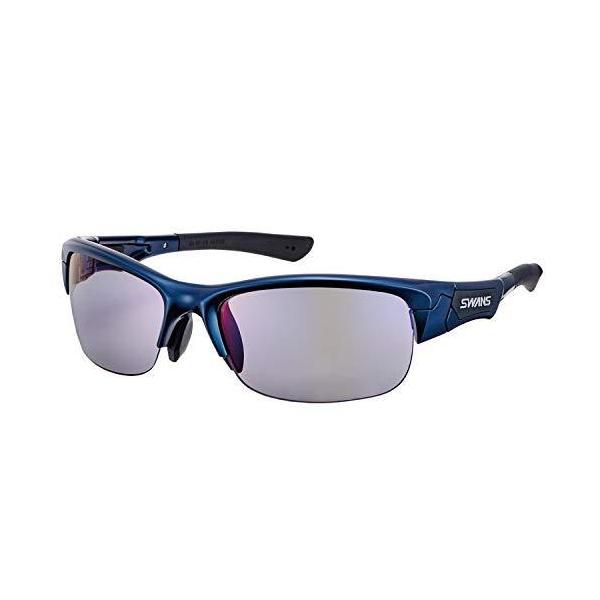 SWANS(スワンズ) スポーツ 偏光レンズモデル サングラス SPRINGBOK スプリングボック SPB-0151 MEBL ダークメタリックブルー