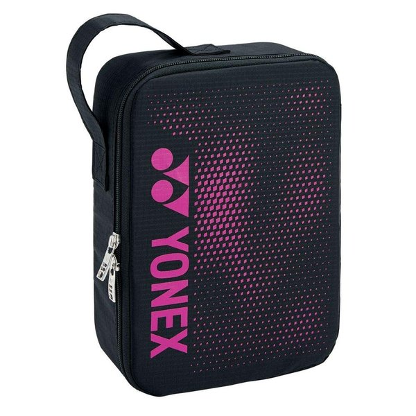 ヨネックス YONEX テニスバッグ・ケース ランドリーポーチM BAG2096M ブラック/ピンク(181)