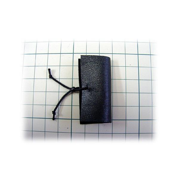 ■ちくちく羊毛かんたん指サック(本皮製・手作り限定品)Mサイズ|hituji-komono