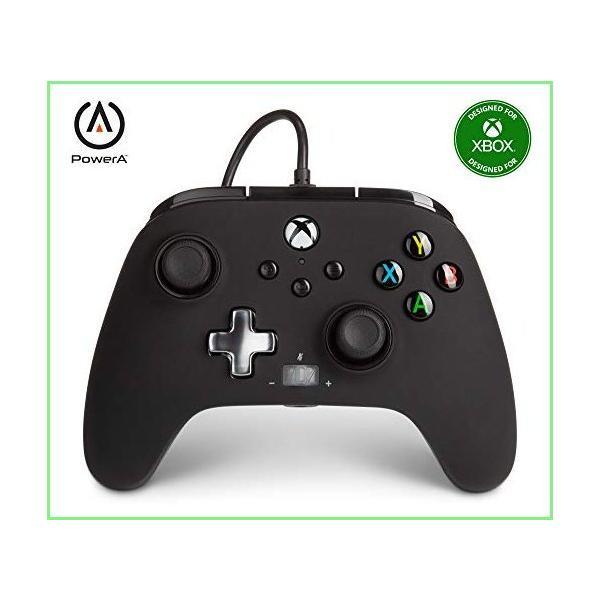 PowerAEnhancedWiredControllerforXbox-Black,Gamepad,WiredVideoGam