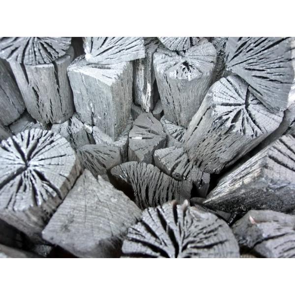 木炭 炭  自社製 大分の椚炭(くぬぎ炭)切炭6-6.5cm5kg 大分県産 最高級|hiyorinet|02