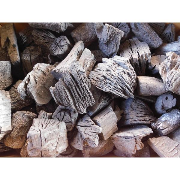 木炭 炭 大分の椚(くぬぎ)荒炭(5-10cm)10kg箱入り 大分県産 最高級|hiyorinet|02