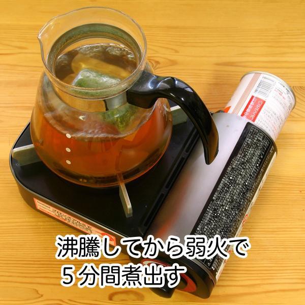 国産なずな茶4g×30パック 濃厚な煮出し用ティーバッグ 徳島県産 農薬不使用 ナズナ茶 ティーパック 自然健康社 hl-labo 06