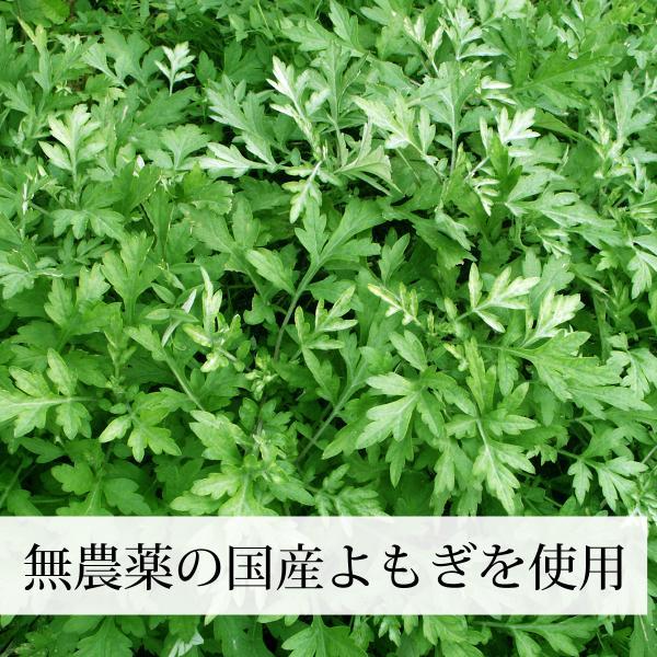 国産よもぎ茶1g×45パック 農薬不使用 手軽な糸付きティーバッグ 美容に 女性に 無農薬 ヨモギ茶 ティーパック 自然健康社|hl-labo|04