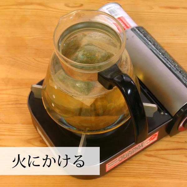 国産まこも茶4.5g×30パック 煮出し用ティーバッグ マコモ茶 真菰茶 マクロビオティック マコモダケ ティーパック 無農薬|hl-labo|05