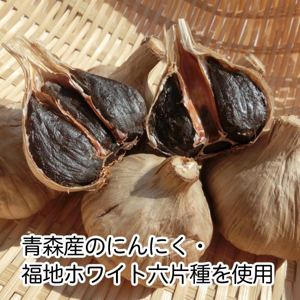 発酵黒にんにくカプセル・徳用300g(482mg×620粒) 青森産福地ホワイト六片種使用 えごま油含有 サプリメント hl-labo 02