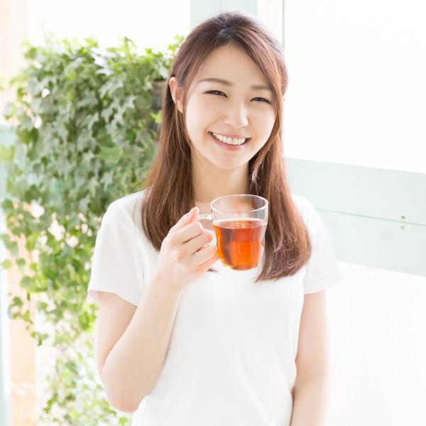 国産ギャバロン茶2g×100パック×2個 ギャバ茶 ガンマアミノ酪酸含有 糸付きティーバッグ ティーパック 自然健康社|hl-labo|08