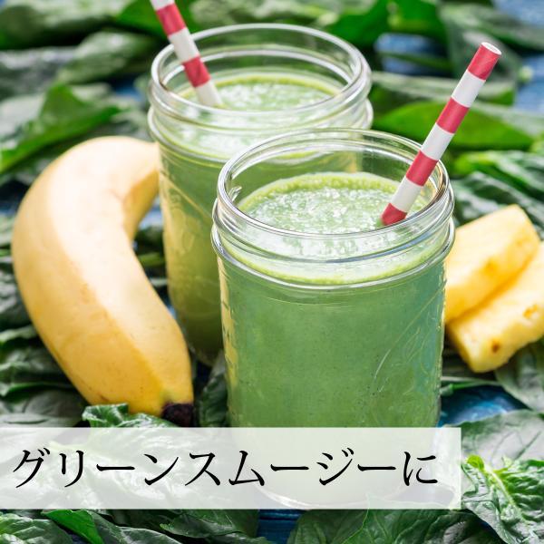 国産・大麦若葉粉末100g×2個 無添加 100% 青汁スムージーに 野菜不足の方に 無農薬|hl-labo|11