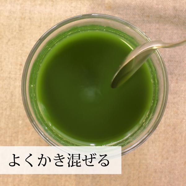 国産・大麦若葉粉末100g×2個 無添加 100% 青汁スムージーに 野菜不足の方に 無農薬|hl-labo|08