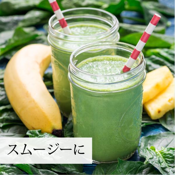モリンガ青汁粉末 100g×2個 農薬不使用 無添加 100% フィリピン産 スーパーフード ミラクルツリー|hl-labo|12