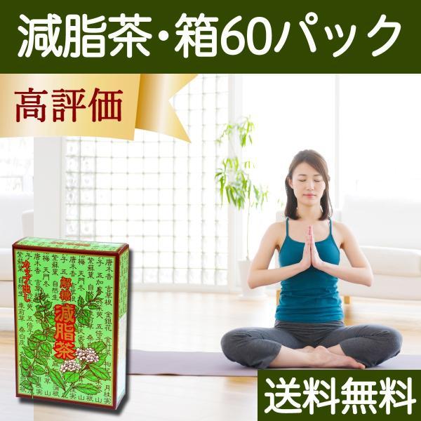 送料無料 減脂茶・箱60パック ギムネマ、甘草、決明子、サンザシ配合のダイエット茶|hl-labo