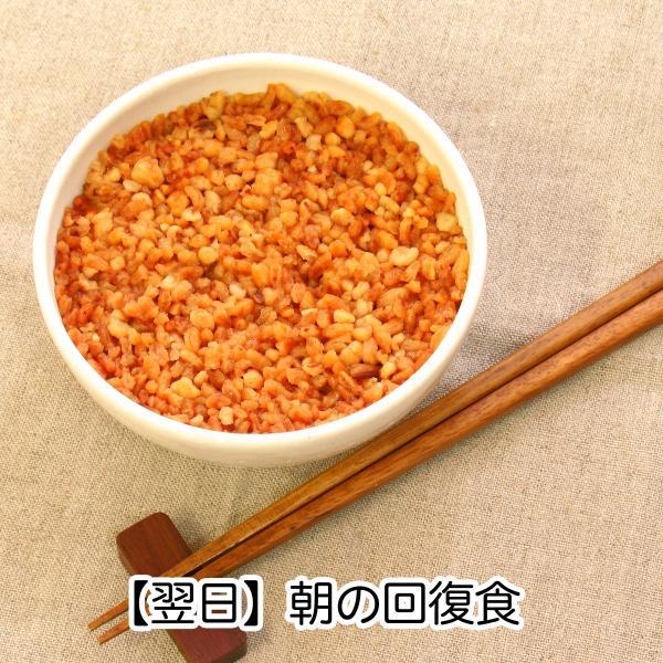 【翌日】朝の回復食