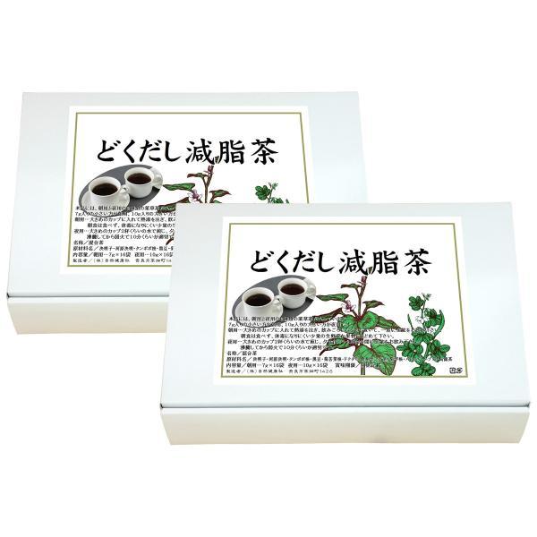 送料無料 どくだし減脂茶・箱 各16パック×2個 プチ断食 ファスティングダイエット ダイエット茶 hl-labo 15