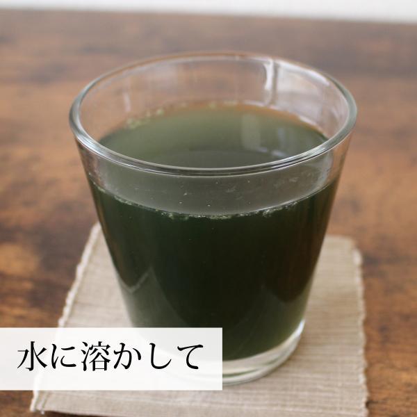 送料無料 国産よもぎ青汁粉末 100g×4個 無添加 100% 蓬 ヨモギ 茶 フレッシュ パウダー スムージー・野菜ジュースに 農薬不使用 無農薬 微粉末|hl-labo|07