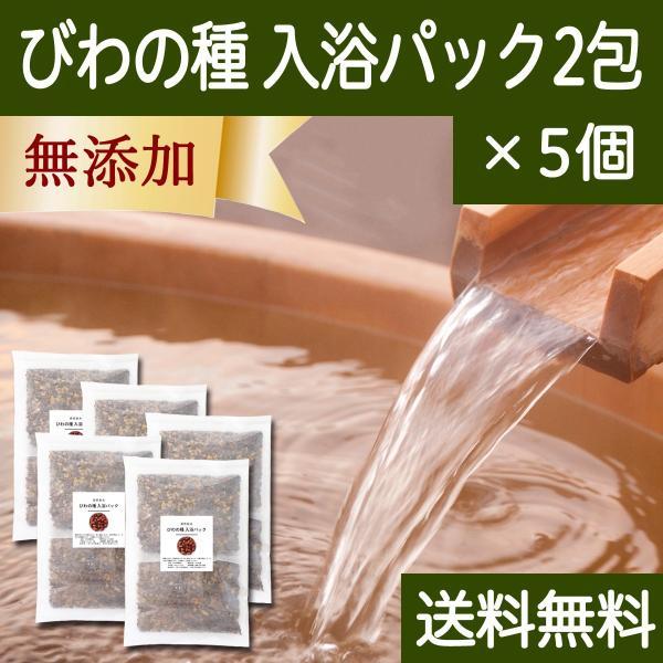 びわの種 入浴パック2包×5個 びわ種 ビワ 種 枇杷 乾燥 刻み 入浴剤 入浴 送料無料