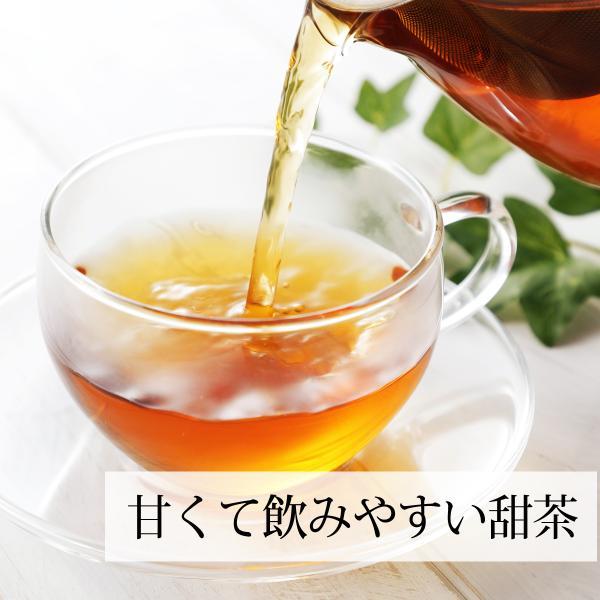 送料無料 甜茶3.3g×32パック×4個 甜葉懸鈎子 濃厚な煮出し用ティーバッグ 季節の変わり目に バラ科 ティーパック 自然健康社|hl-labo|07