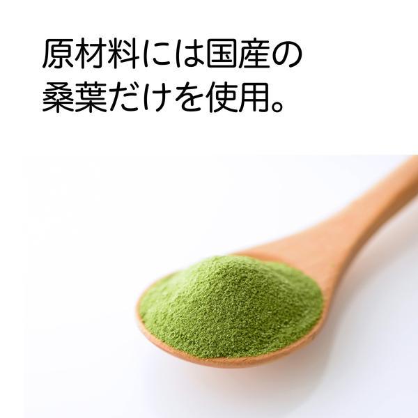 送料無料 国産・桑葉青汁粉末100g×3個 無添加 100% 青汁スムージーに 野菜不足、食物繊維不足に|hl-labo|03