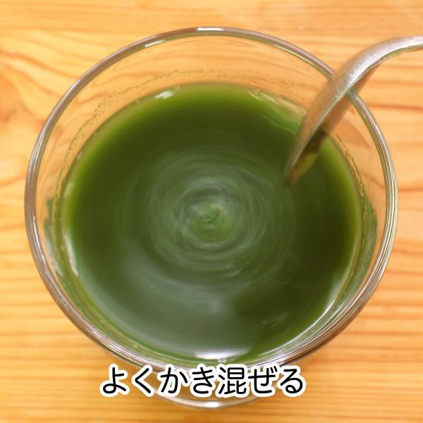 送料無料 国産・桑葉青汁粉末100g×3個 無添加 100% 青汁スムージーに 野菜不足、食物繊維不足に|hl-labo|08