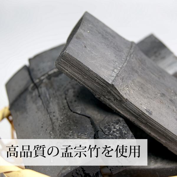 国産・竹炭粉末130g×3個 無添加 パウダー 食用 孟宗竹炭 山梨県産 ミネラル|hl-labo|05