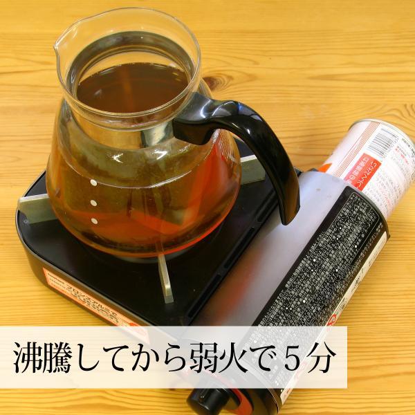 甜茶3.3g×32パック×3個 甜葉懸鈎子 濃厚な煮出し用ティーバッグ 季節の変わり目に バラ科 ティーパック 自然健康社|hl-labo|05