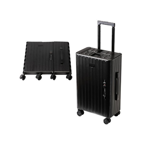&.FLAT アンドフラット キャリーケース キャリーバッグ スーツケース 機内持込み 機内持ち込み おしゃれ 35L 折りたたみ 折り畳み ビジネスキャリー