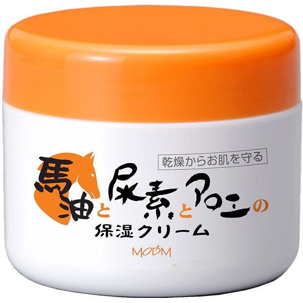 モデム モイスチャークリーム プラス 150g スキンケアクリーム 保湿クリーム 尿素 アロエ 馬油 クリーム(6個ご注文で1個オマケ)