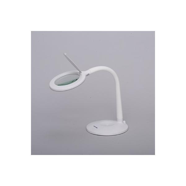LEDルミルーペ ルーペ 拡大鏡 LED ルミルーペ 拡大 卓上 卓上スタンド 電気スタンド スタンドライト