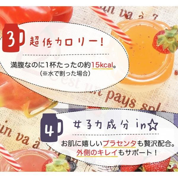 ファスティング クレンズジュース クレンズダイエット ダークチェリー風味 ネコポス便|hlife|05
