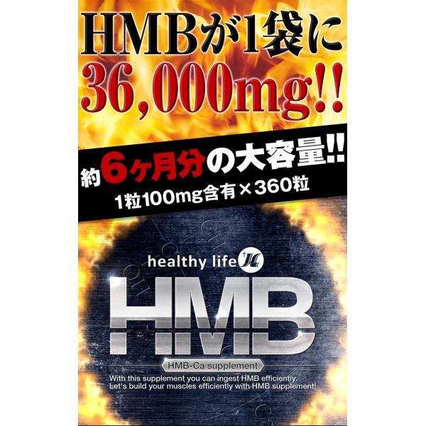 プロテイン hmb サプリ 女性 男性 国産 タブレット サプリメント 筋トレ アミノ酸 ロイシン healthylifeHMB 約6か月 ネコポス便 hlife 03