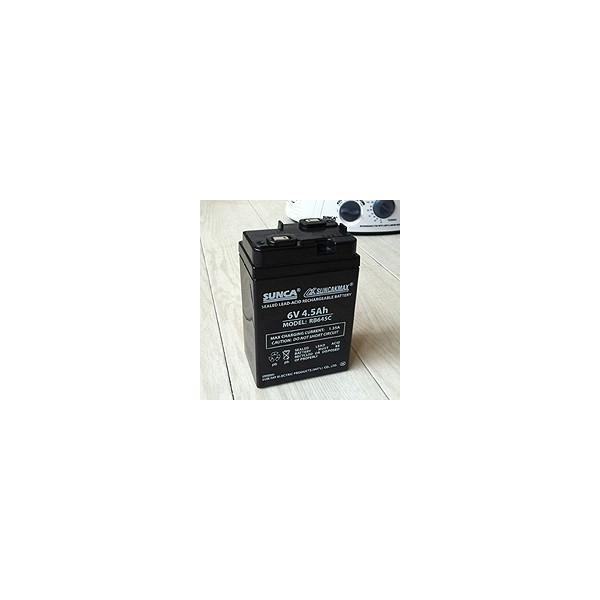 充電式扇風機 専用バッテリー MODEL RB645C 6V 4.5Ah 鉛蓄電池 充電式電池 ヘルシーライフ 宅配便のみ|hlife|02