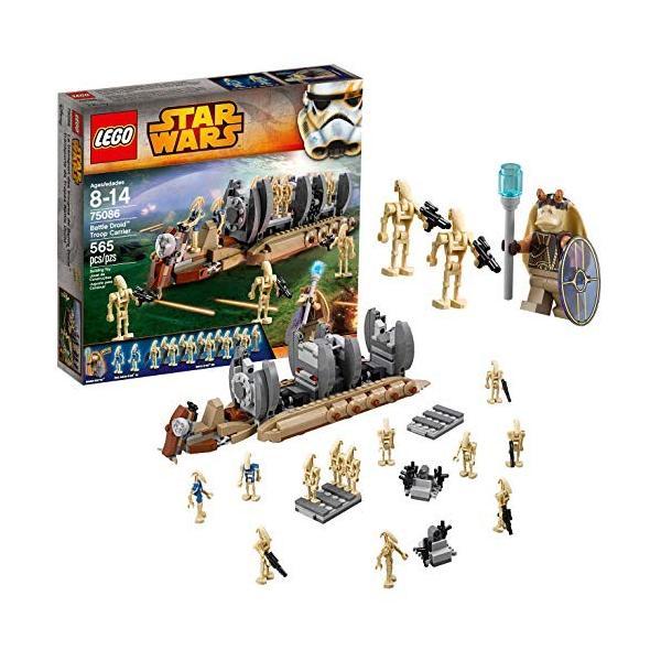 レゴ LEGO 国内正規品 スターウォーズバトルドロイド兵士キャリアStar Wars Troop Droid 中古 Battle 75086 2020A W新作送料無料 Carrier