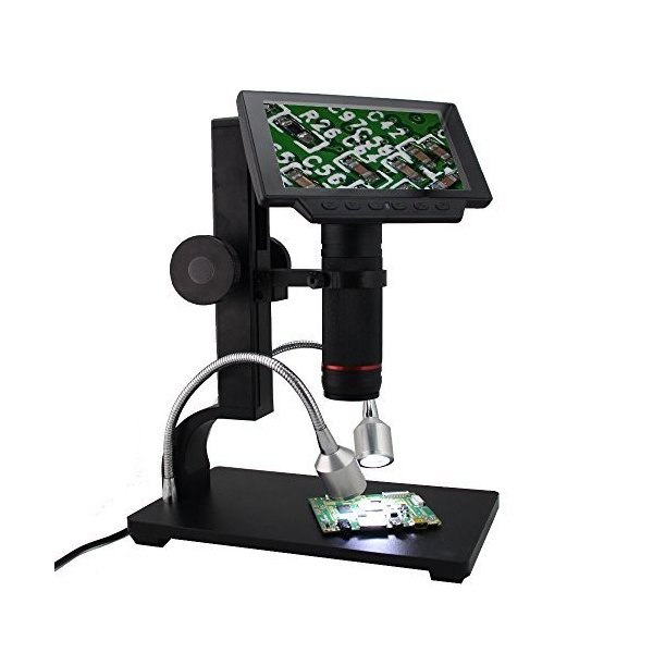 Andonstar ADSM302 5インチ画面1080p 新作多数 AVデジタル顕微鏡はんだ修復ツールBGA HDMI 送料無料 SMT